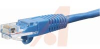 1 FT CAT-5E BLUE SNAGLESS/MOLDED PATCH CORD -- 70121591