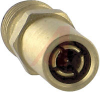 connector,rf coaxial,between series adapter,sma jack to 1.0/2.3 plug,gold plated -- 70142648