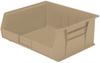 Akro-Mils Akrobin Earthsaver 75 lb Sandstone Hanging / Stacking Storage Bin - 14 3/4 in Length - 16 1/2 in Width - 7 in Height - 1 Compartments - 30250RECY SANDSTONE -- 30250RECY SANDSTONE