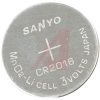 Battery, Coin/Button; Lithium; 3 V; 75 mAh; 20 mm Dia. x 1.6 mm H -- 70157365 - Image