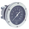 Differential Pressure Gauge with Membrane Sensing Element, 0-400 INWC; 6