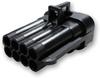 Delphi 12047931 Metri-Pack 8-Way Male Connector, Black, 150 Series -- 38218 -Image