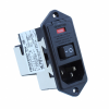 Power Entry Connectors - Inlets, Outlets, Modules -- 1-6609940-9-ND - Image