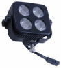 LED Light Emitter Bar - 4 X 10 WATT LEDs - Aluminum Housing - 3200 Lumens - 500'L X 50'W Spot Beam -- LED10W-4R