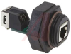 Connector; Receptacle; Nitrile Rubber; Panel Mount -- 70042502