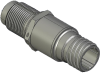 Honeywell Harsh Application Aerospace Proximity Sensor, HAPS Series, Inline cylindrical threaded form factor, 2,50 mm/3,50 range, 3-wire current sinking output near/fault/far, D38999/25YA98PN terminat -- 1PCTD3AAN1-000 -Image