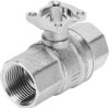 Ball valve -- VZBM-1/4-RP-40-D-2-F03-B2B3 -Image
