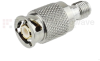 SMA Female (Jack) to ZMA Plug (Male) Adapter, Passivated Stainless Steel Body -- SM5519 - Image