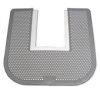 Disposable Washroom Floor Mats - Green Apple Fragrance, Gray (23 x 21.75) -- IMP 1550