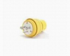Straight Blade, Watertight Plug Yellow 20A 250V 2P -- 78678871023-1