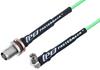 SMA Male Right Angle to TNC Female Bulkhead Low Loss Cable 100 CM Length Using PE-P160LL Coax -- PE3C5263-100CM -Image