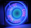 Bgears B-cool Fan w/ Temp/RPM Display! - 120mm -- 15772 -- View Larger Image