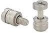 Captive Panel Screw-Screw Head, No Spring PFHV - Metric -- PFHV-M3-1-CN-2