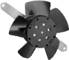 Axial Compact AC Fans -- 4650 TZ -Image