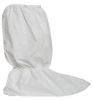 Dupont Safespec ProClean PC444S White Large Disposable Cleanroom Boot Cover - 19 in Height - PVC Sole - 14 in Sole Length - PC444SWHLG01000B -- PC444SWHLG01000B - Image