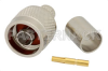 RP N Male Connector Crimp/Solder Attachment for RG213, RG8, RG215 -- PE44472