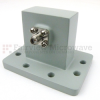 WR-137 to SMA Female Waveguide to Coax Adapter UDR70 Standard with 5.85 GHz to 8.2 GHz C Band in Aluminum -- SW137A - Image