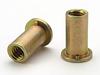 Flathead Threaded Insert - Open End Keyless - Metric -- AECHM5-3-5