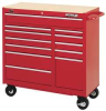 Tool Cart,12 Dr,41 1/4 In,Red -- 1RC97