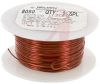 WIRE, MAGNET, SOLDERABLE, 20AWG, POLYURETHANE/NYLON COATED CLEAR (TRANSPARENT) -- 70004244