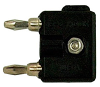 Stacking Miniature Double Banana Plug -- DB500SL