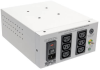 Isolator Series Dual-Voltage 115/230V 600W 60601-1 Medical-Grade Isolation Transformer, C14 Inlet, 6 C13 Outlets -- IS600HGDV -- View Larger Image