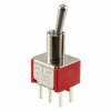 Toggle Switches -- 100DP3T1B2M2QE-ND - Image