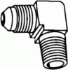 SAE Tube to Pipe Elbow 90° -- 49-05-08 - Image