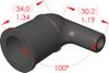 Angle Boot Insulator -- 16139 - Image
