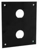 Universal Rack Mount Sub-Panel with 2 0.630