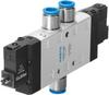 Air solenoid valve -- CPE24-M1H-5J-QS-12 -Image