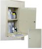 In Wall Medication Cabinet, Single Door/Single Lock (Wo.. -- WL2782 - Image