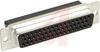 D-Sub Receptacle; Steel; Crimp Snap; Female; 5; Tin-Lead -- 70041352 - Image