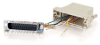 RJ12 to DB25 Male Modular Adapter -- 2601-02918-ADT - Image