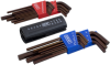 22 Pieces SAE & Metric Long Arm S2 Hex Key Set -- 68723 - Image