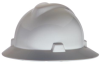 V-Gard Full Brim Hard Hats > COLOR - White > STYLE - Fas-Trac > UOM - Each -- 475369 -- View Larger Image