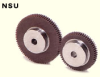 75mm PD Plastic Spur Gear w/ Steel Core -- NSU1.5-50-Image