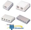 Panduit® Mini-Com Shuttered Surface Mount Boxes -- CBXS3-A
