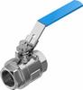 Ball valve -- VZBE-11/2-T-63-D-2-M-V15V15 -- View Larger Image