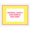 "4 1/2in x6in ""Material Safety Data Sheets Encl""Env -- PL423"