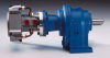 Dynatork Free Piston Air Motor with Planetary Worm Gearbox -- 3R1