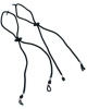 Eyewear Hang Cords - snap-fit for Duoflex cushioned temples > UOM - Each -- S505D