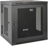 SmartRack 10U Low-Profile Switch-Depth Wall-Mount Rack Enclosure Cabinet, Hinged Back -- SRW10US -- View Larger Image