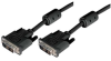 Deluxe DVI-D Single Link DVI Cable Male/Male w/Ferrites, 1.0 ft -- MDA00012-1F - Image