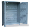 Cabinet with Hooks -- 46-BB-240W/HOOKS -- View Larger Image