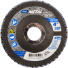 Norton Metal ZA Coarse Center Mount Fiberglass Flat Flap Disc -- 66254448990 - Image