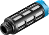 Pneumatic muffler -- U-1/4-20 -- View Larger Image