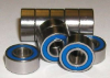 10 Sealed Bearing R2-5-2RS 1/8 -- kit741