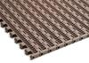 Flush Grid 22% Open Modular Belt -- HabasitLINK® 106 22 -Image