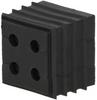 Cable seal CONTA-CLIP KDS-DE 4x3-4 BK - 28558.4 -Image